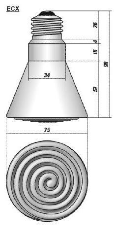 Инфракрасные лампы ECX