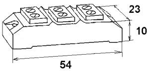 Чертеж керамической клеммнаой колодки термостойкой 4хП