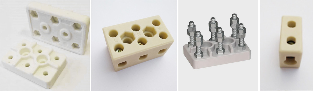 Моторные клеммные колодки и стеатитовые клеммные термостойкие колодки от Элемаг